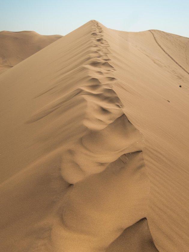 Overal zand!