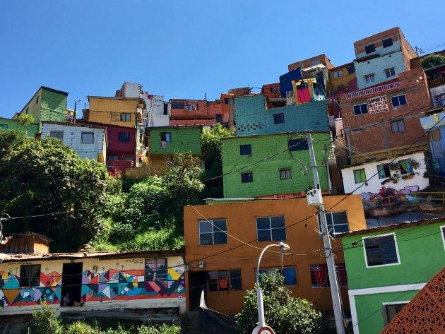 Colourful comuna 13