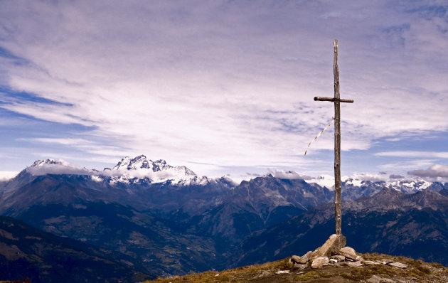 Uitzicht vanaf Point de La Pierre