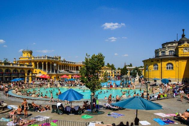 Goedkoop zwembad in Budapest met alleen locals!
