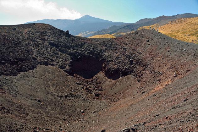 De Noordflank van de Etna