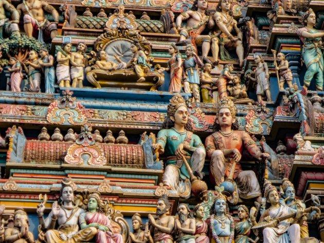Vergaap je aan de details van de Kapaleeshwarar Temple in Chennai