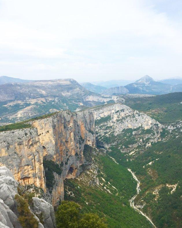 Uitzicht bij de Gorges du Verdon
