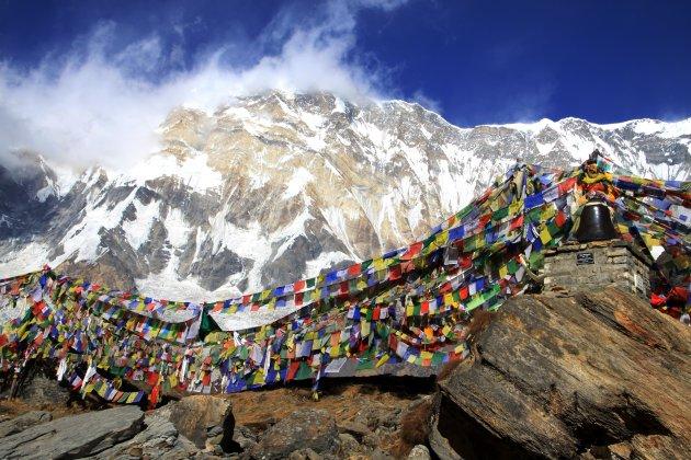 Gedenkplaats op Annapurna B.C