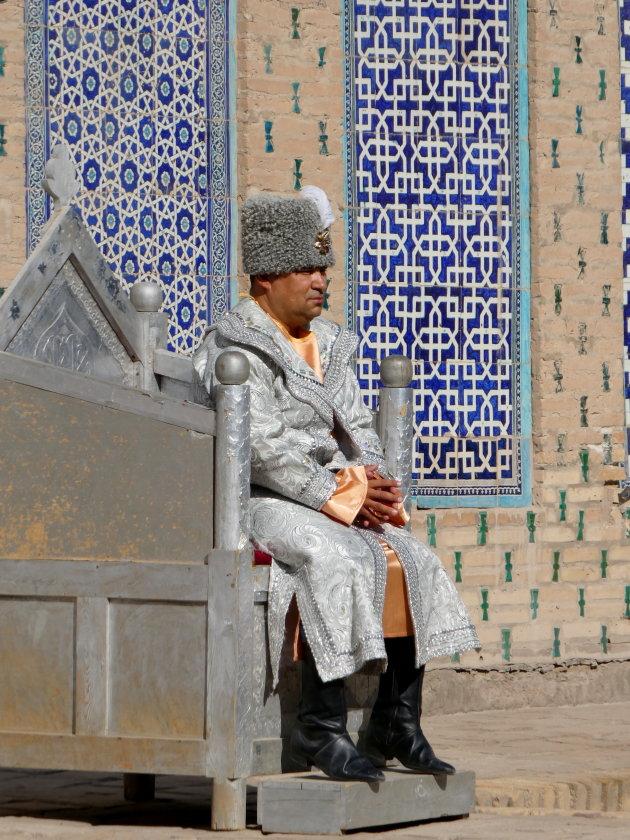 Khan in zijn paleis