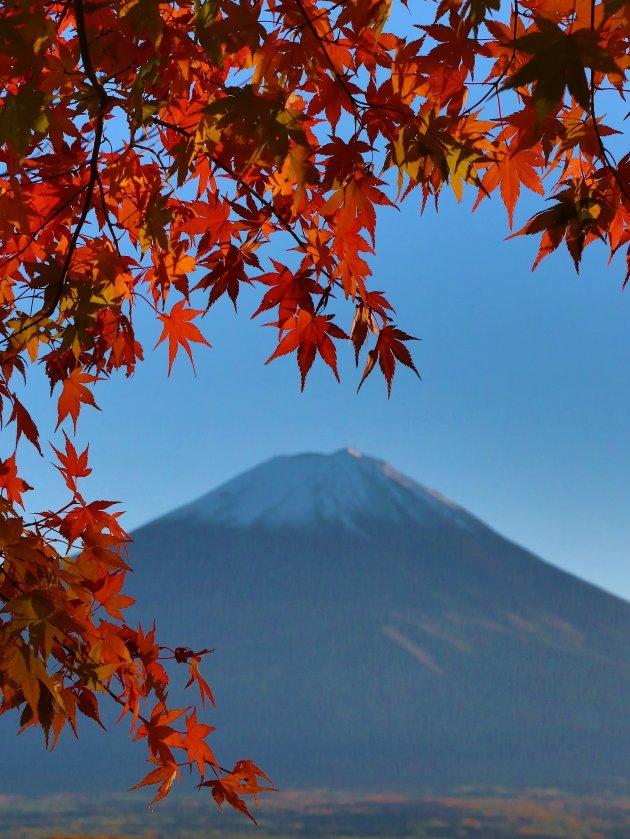 Geen vuiltje aan de lucht Fuji-san