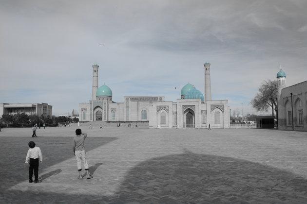 Turen naar de vliegers in Tasjkent