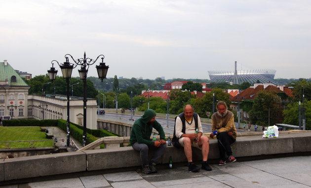 ontmoeting op de brug