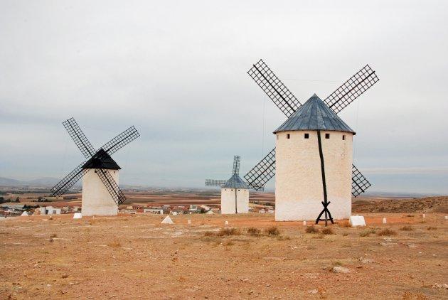 De molens van La Mancha