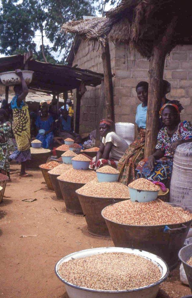 Markt in Benin