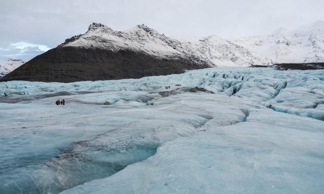Lopen op ijs
