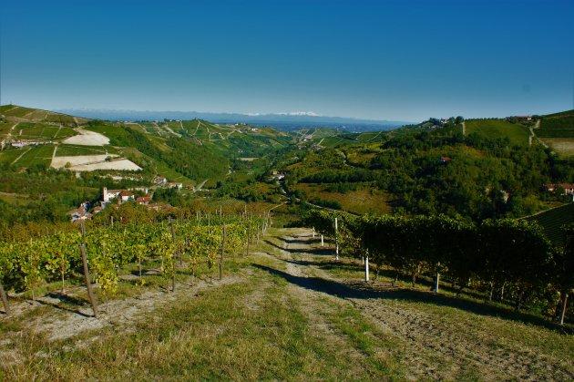 uitzicht over de Piemonte