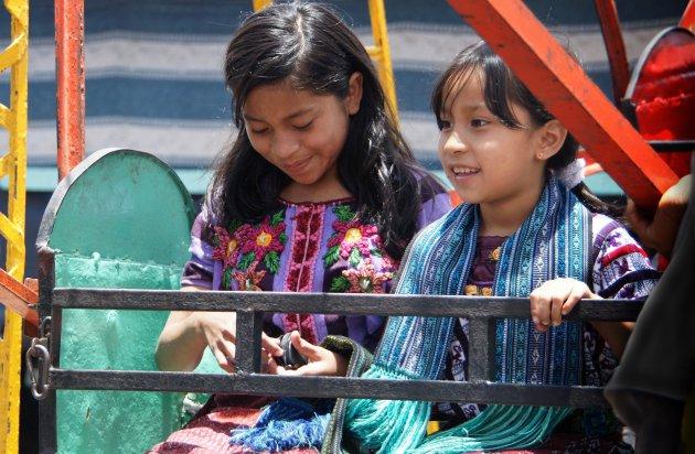 feest in Santiago de Atitlan