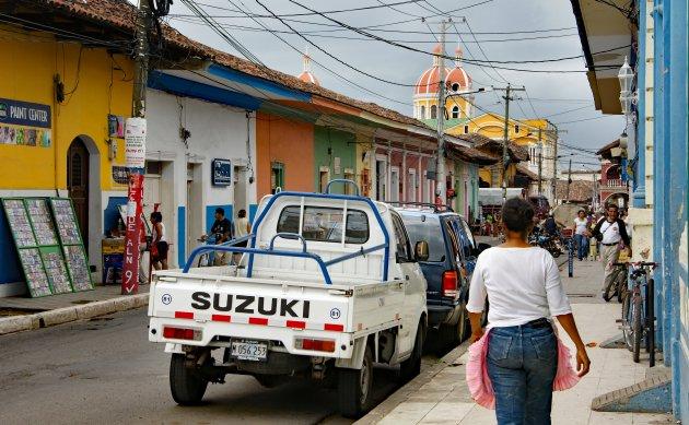 Gewoon een straat in Granada