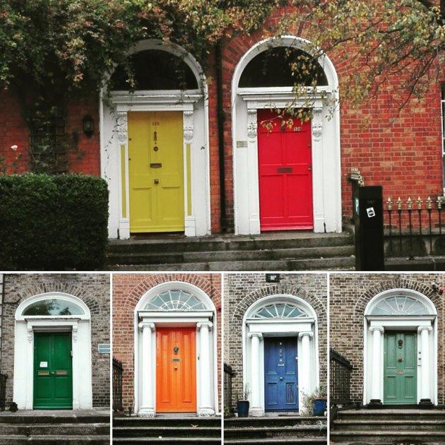 De Dublinse voordeur