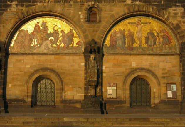 Ingang van de Dom van Bremen