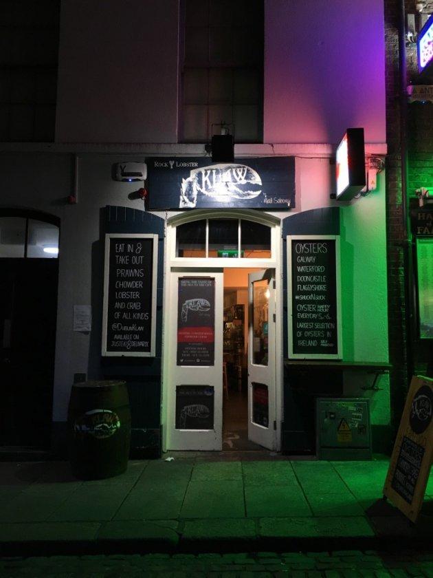 Oesters eten in Dublin