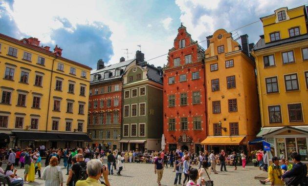 Het Grote plein van Stockholm