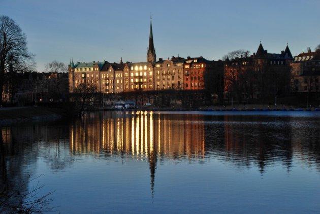Stockholm in de winter