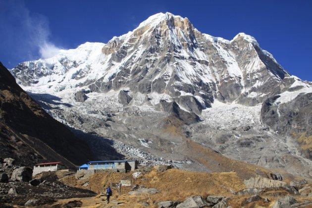Nabij Annapurna basecamp
