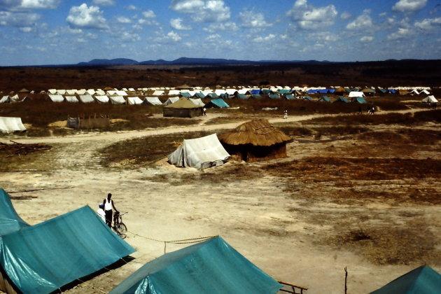 Quartering area bij Huambo