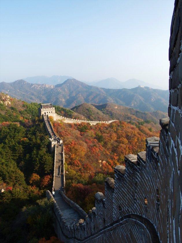 Yanqing – China – Chinese muur bij Badaling
