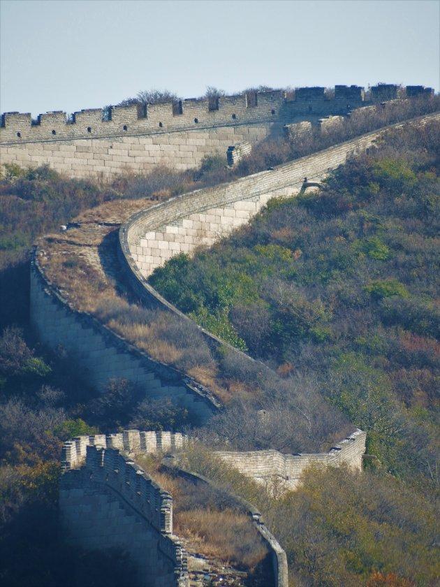 Xi Can Lu – China – Oude Chinese muur bij Badaling