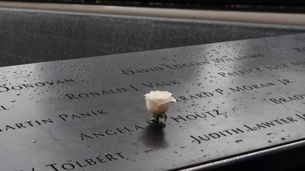 Indrukwekkende 9/11 memorial.
