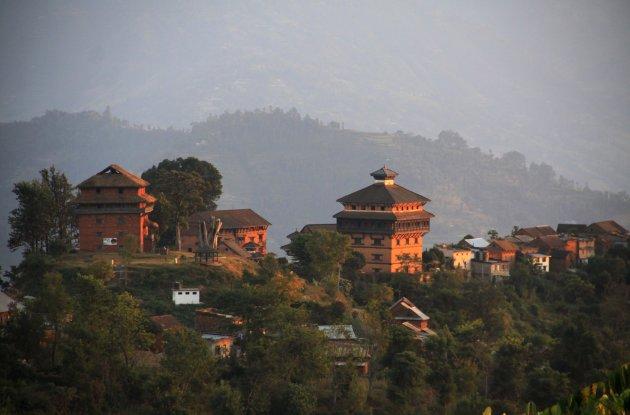 Zicht op Nuwakot