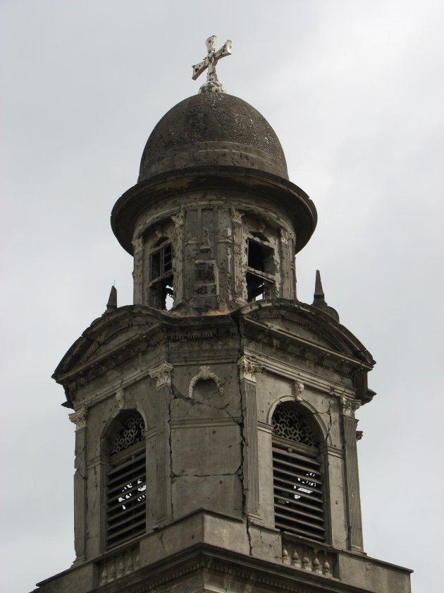 oude kathedraal van Managua