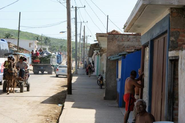 Cubaans straatbeeld