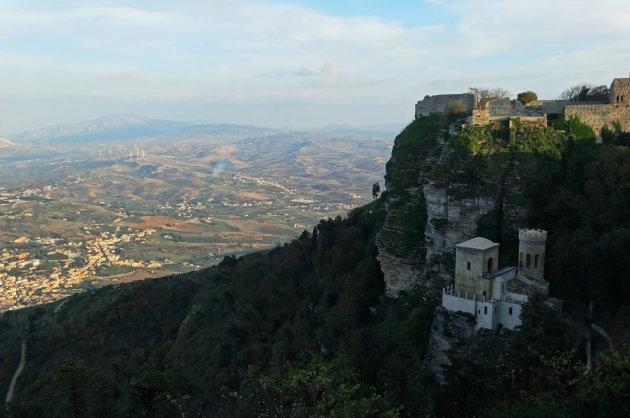Het kasteel bij Erice