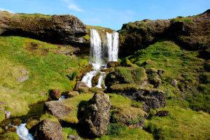 Seljafell waterval