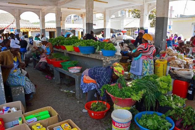 De markt van Assomada