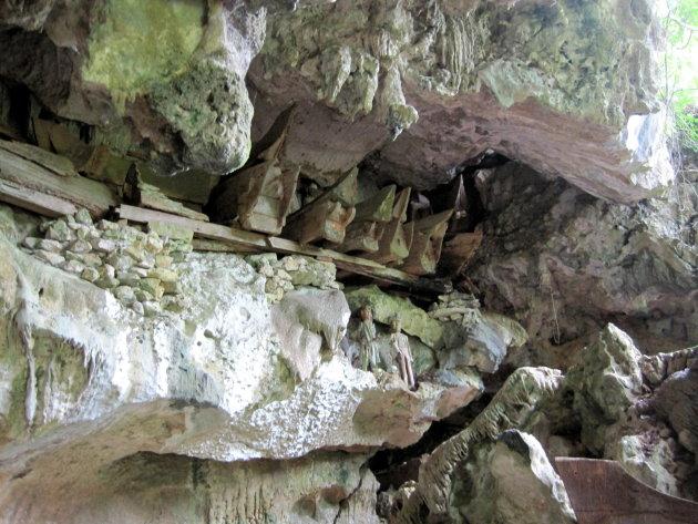graven in grot