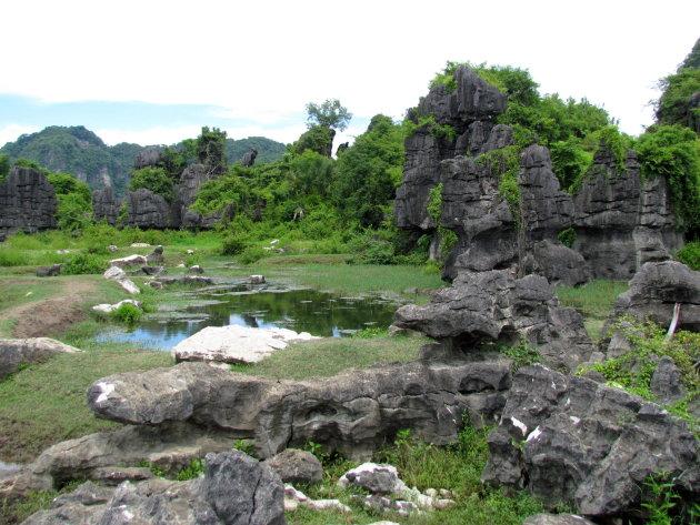 erosie in Karstgebergte