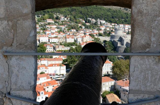 Uitzicht fort Lovrijenac