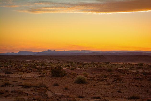 Eindeloze zonsondergang