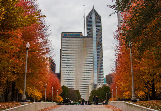 Herfst in Chicago