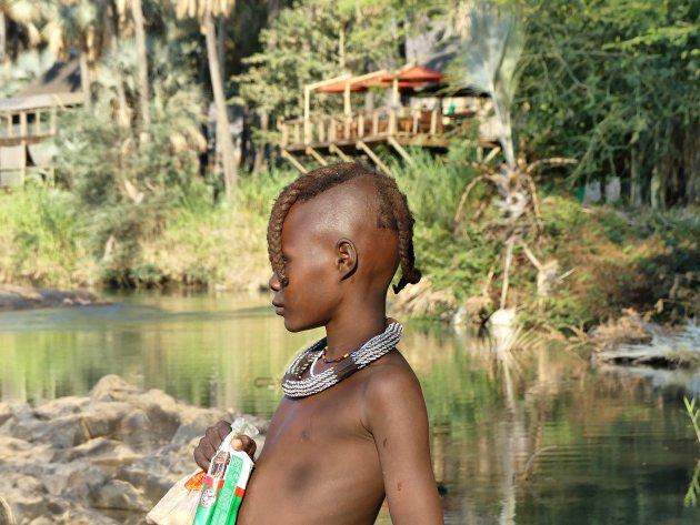 Himba bij Epupa