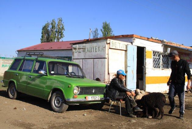 Handel op de veemarkt