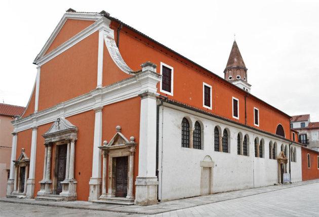 De St Simeon kerk in Zadar