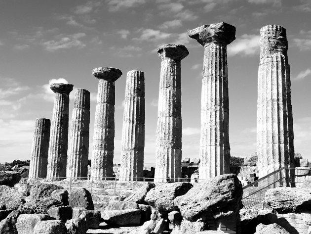 De tempel van Juno