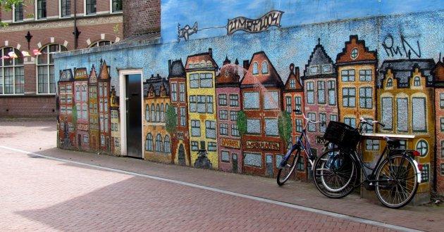 straatje geschilderd