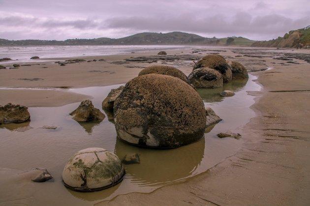 De Legendarische Moeraki Boulders