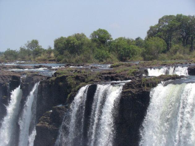 Victoria Falls bij laag water