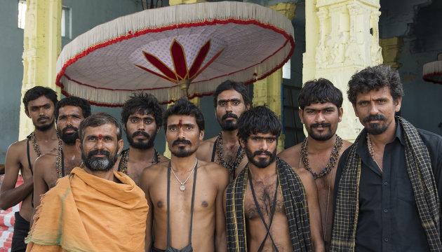 Vishnu worshippers