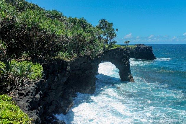 De Coastal Walk op Samoa