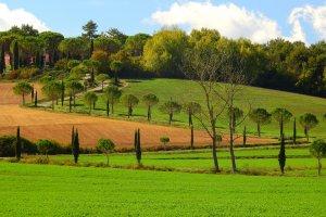 Kriskras door Toscane.