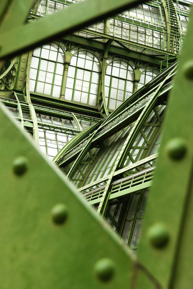 Een doorkijkje bij de orangerie in Wenen